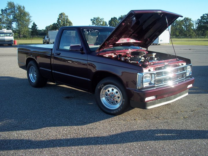 1985  Chevrolet S10 Pickup regular cab shortbox picture, mods, upgrades