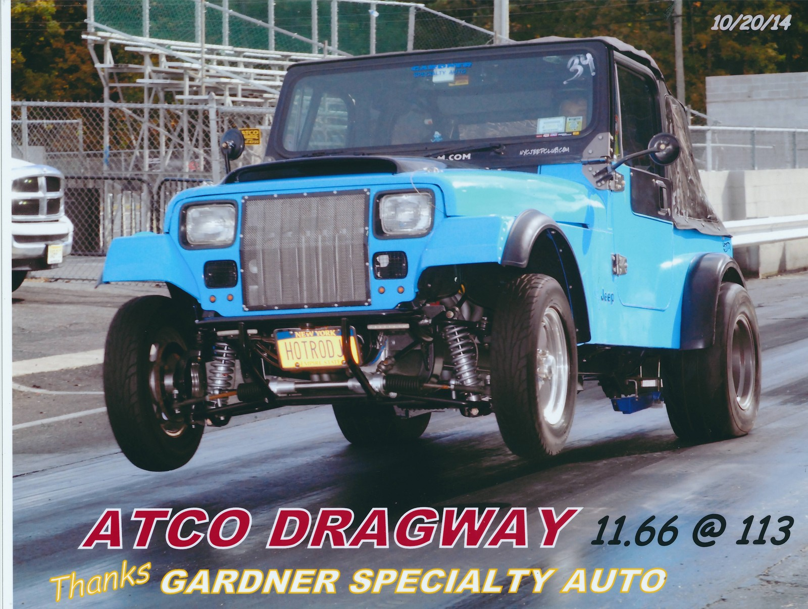 1989 Blue Jeep Wrangler  picture, mods, upgrades
