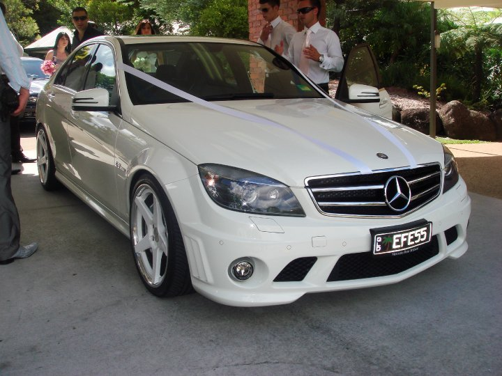 2009  Mercedes-Benz C63 AMG  picture, mods, upgrades