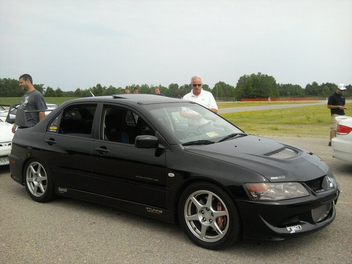 Lancer Evo Drag Racing Car
