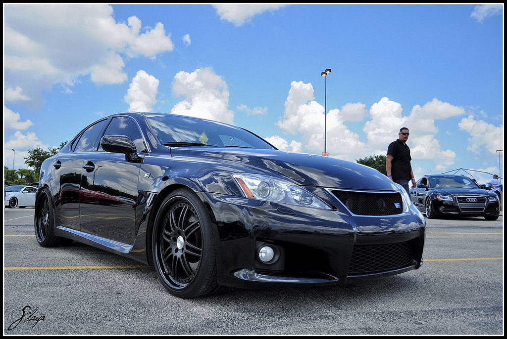 2008 Lexus IS-F Nitrous