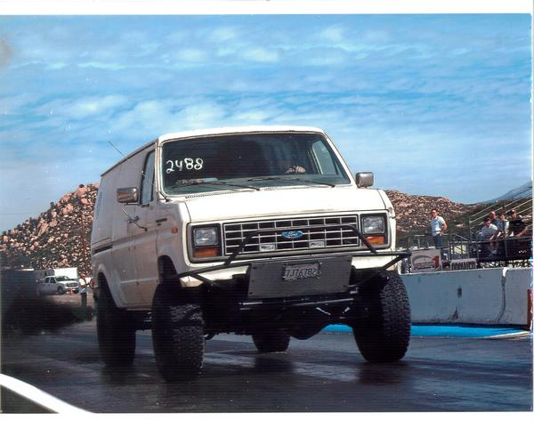 1990  Ford Econoline 1 ton diesel 4x4 picture, mods, upgrades