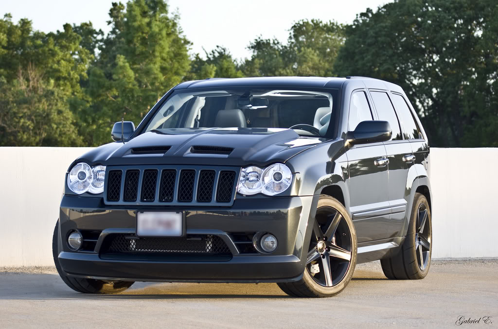 If youre gonna do an SRT8 Ya need to do it like this