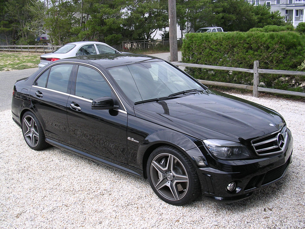 2010 Mercedes-Benz C63 AMG Eurocharged