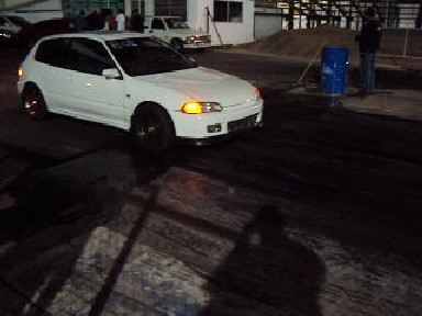 1992 White Honda Civic hatchback picture, mods, upgrades