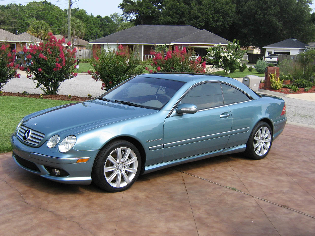 2003 Mercedes-Benz CL55 AMG