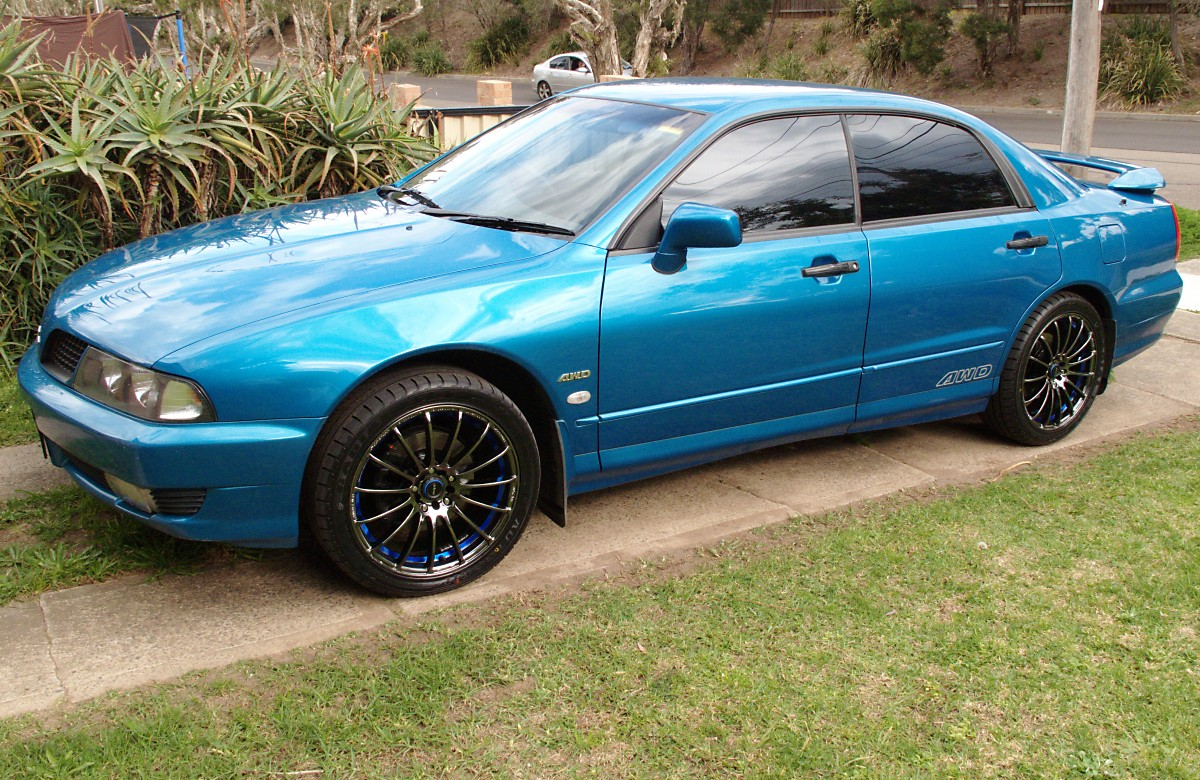 2003  Mitsubishi Magna TJ AWD picture, mods, upgrades