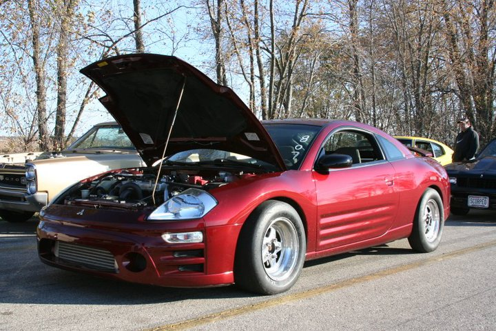 2003 Mitsubishi Eclipse GS 1/4 mile Drag Racing timeslip specs 0-60