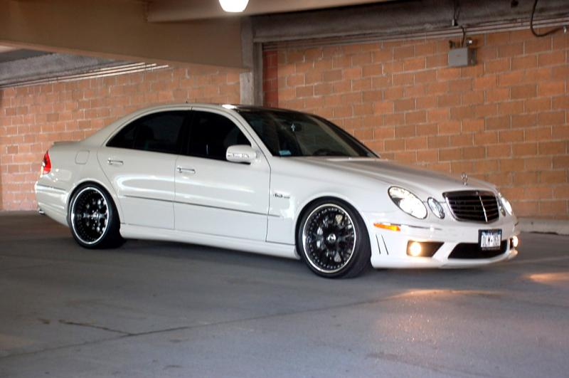 2008  Mercedes-Benz E63 AMG Pano picture, mods, upgrades