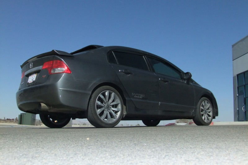 2009 honda civic coupe 0-60