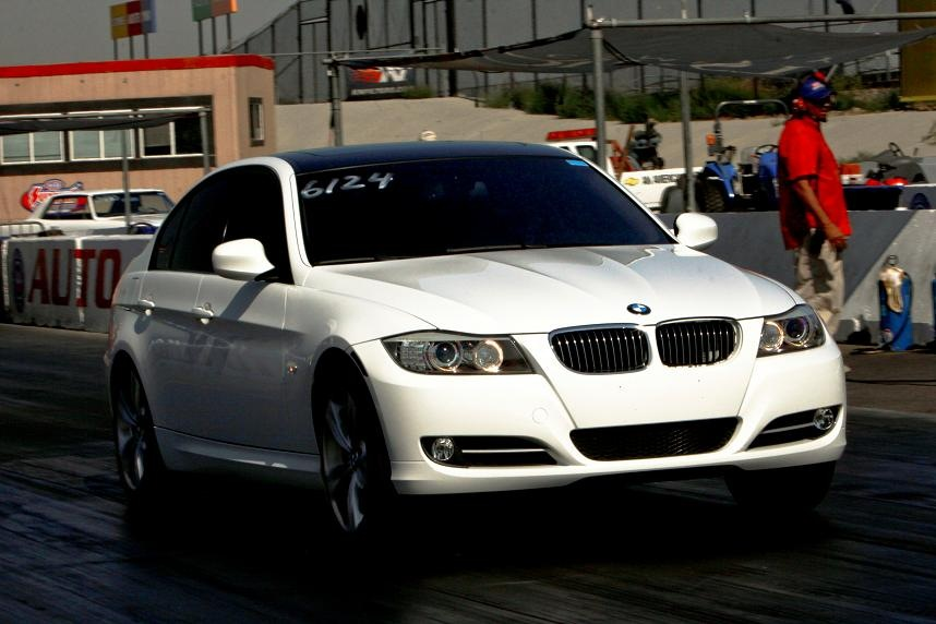 BMW I Sedan Juice Box Tuned Mile Trap Speeds - 2007 bmw 335i performance upgrades