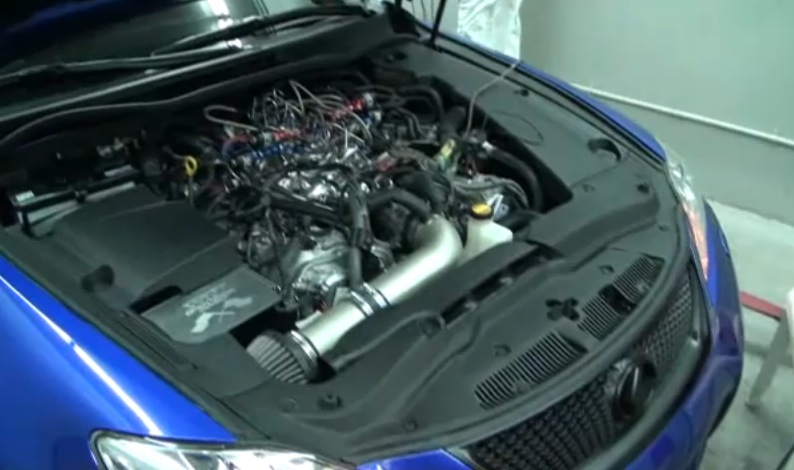 2010 Lexus IS-F Nitrous