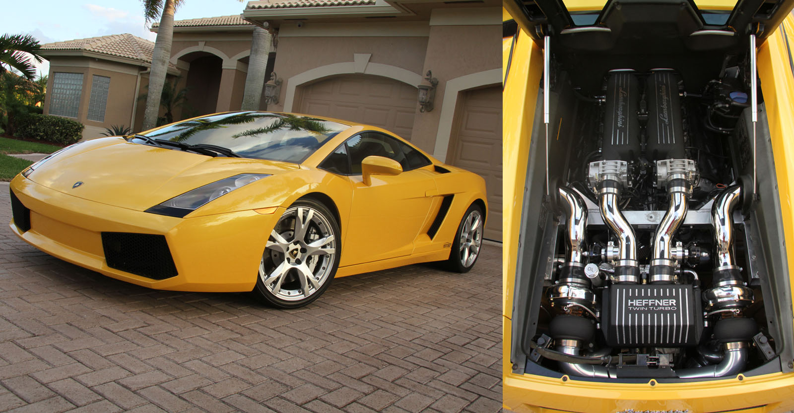 2006  Lamborghini Gallardo Twin Turbo Heffner Bolt-on Kit picture, mods, upgrades