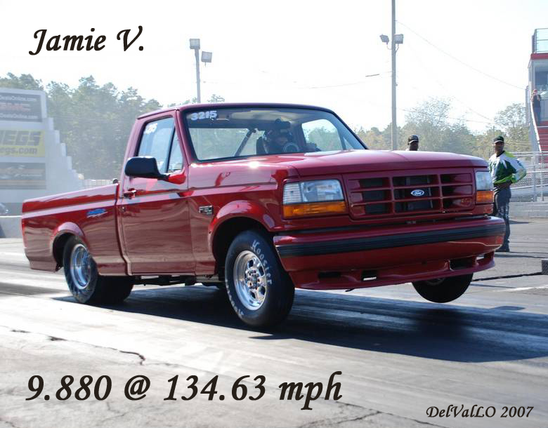 1994 ford f150 lightning 1 4 mile drag racing timeslip specs 0 60