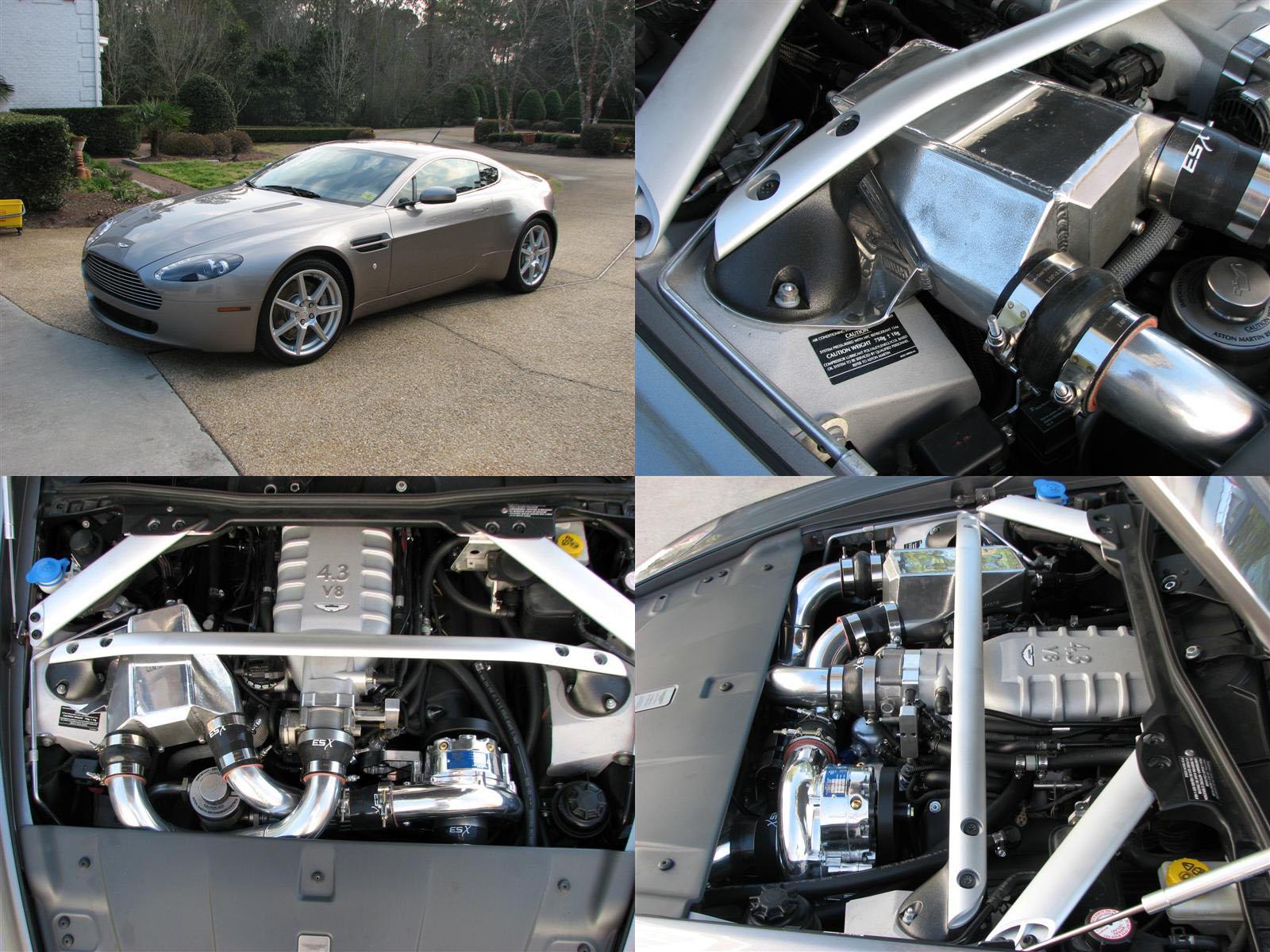 2007 Aston Martin Amv8 Manual Vortech V3 Supercharged Dyno Sheet Details Dragtimes Com