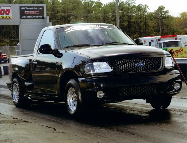2000 ford f150 lightning 1 4 mile drag racing timeslip specs 0 60
