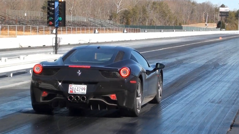 Ferrari 458 Drag Racing, Drag Strip