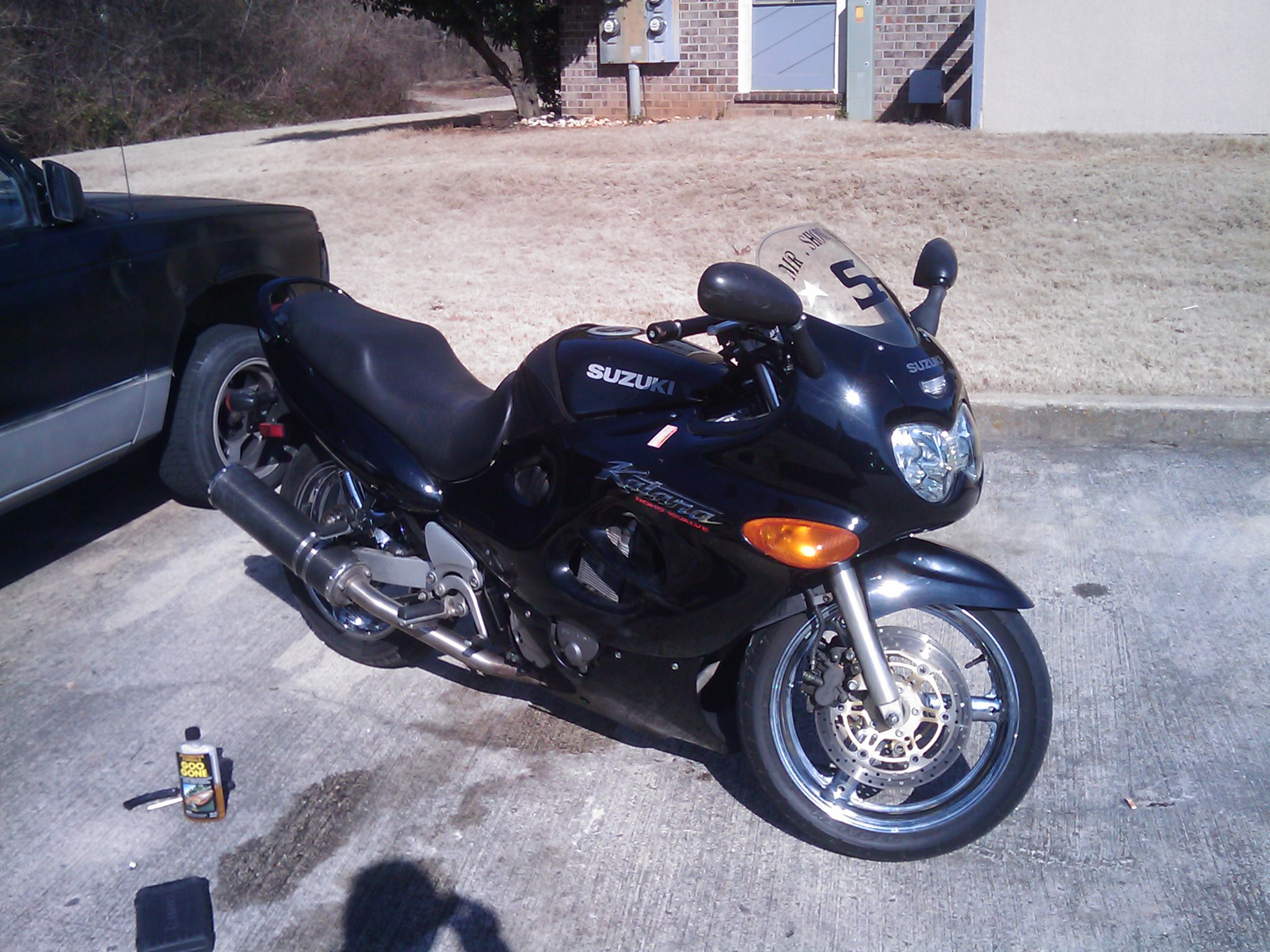 1998  Suzuki Motorcycle Katana 750 picture, mods, upgrades