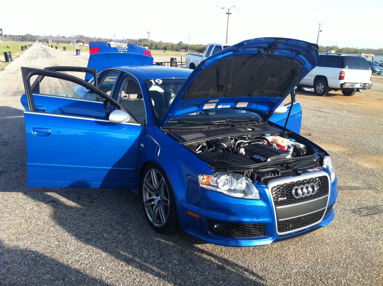 2008  Audi RS-4  picture, mods, upgrades