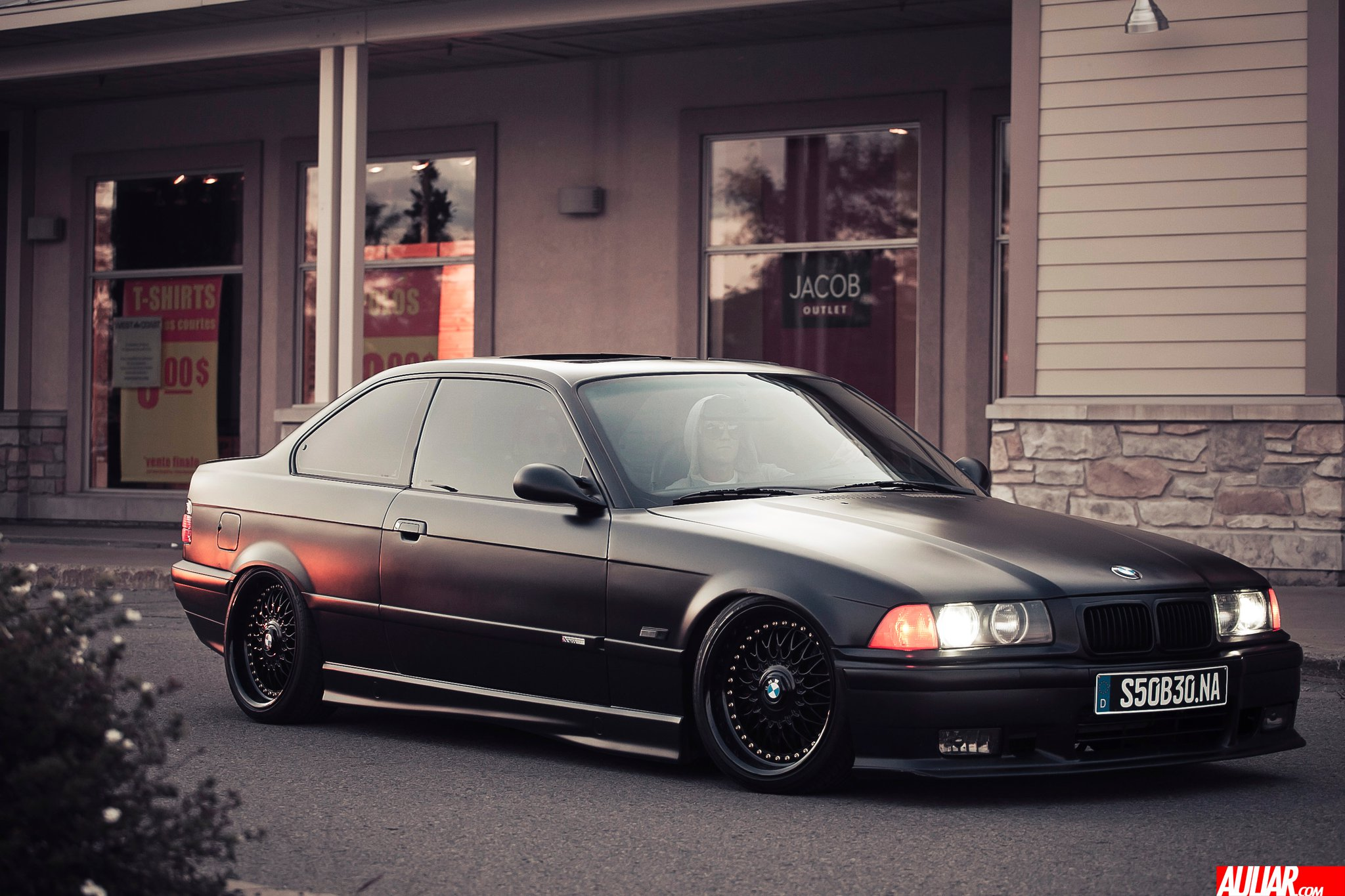 1995 Satin Black BMW M3 E36 US 3.0L picture, mods, upgrades