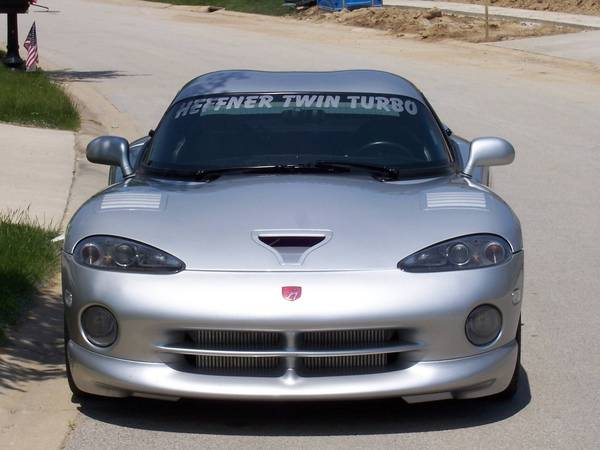 1998 Silver Dodge Viper HEFFNER TWIN TURBO  GTS picture, mods, upgrades