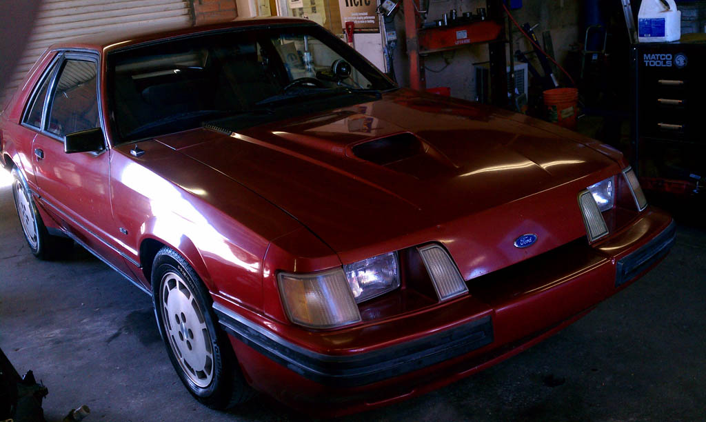 1984  Ford Mustang svo nitrous picture, mods, upgrades