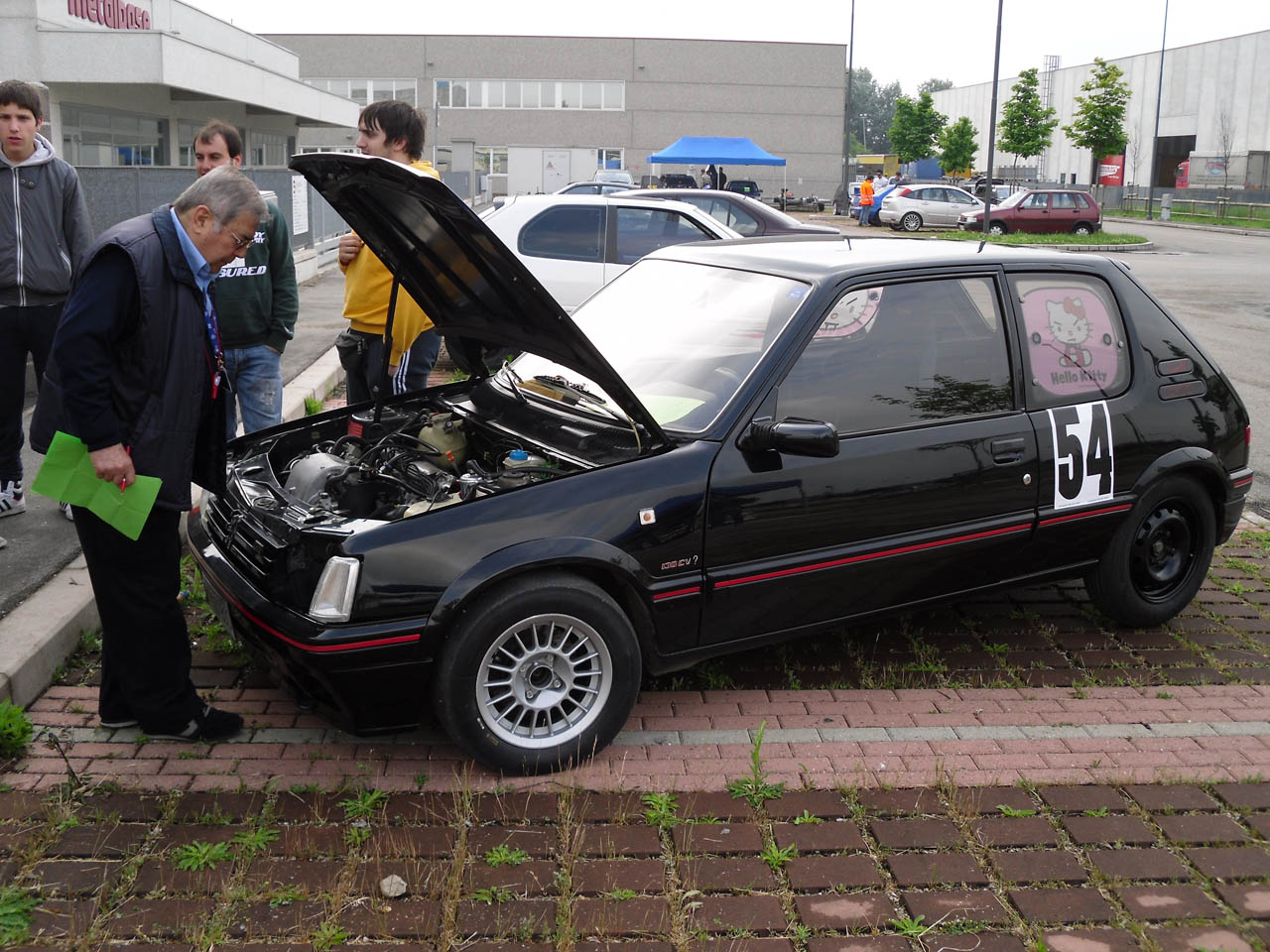 1988 peugeot 205 gti 1 8 mile drag racing timeslip 0 60 for Housse 205 gti