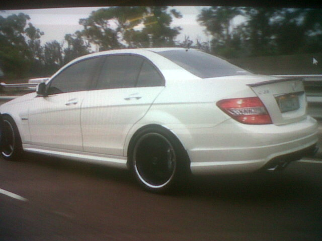 2009 Mercedes Benz C63 AMG tuned by CPI 1 4 mile trap