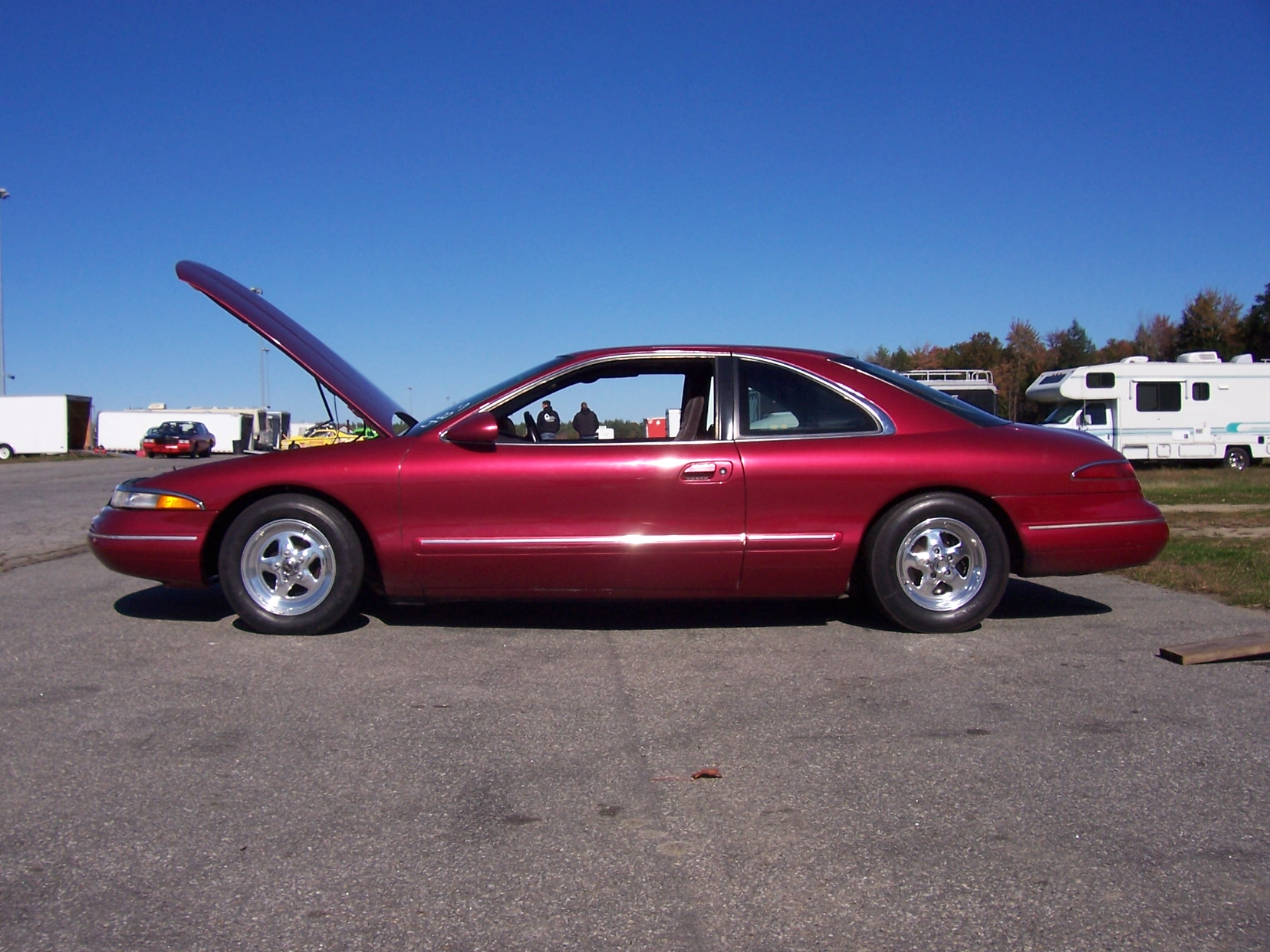 1993 Lincoln Mark Viii 1 4 Mile Trap Speeds 0 60 Dragtimes Com