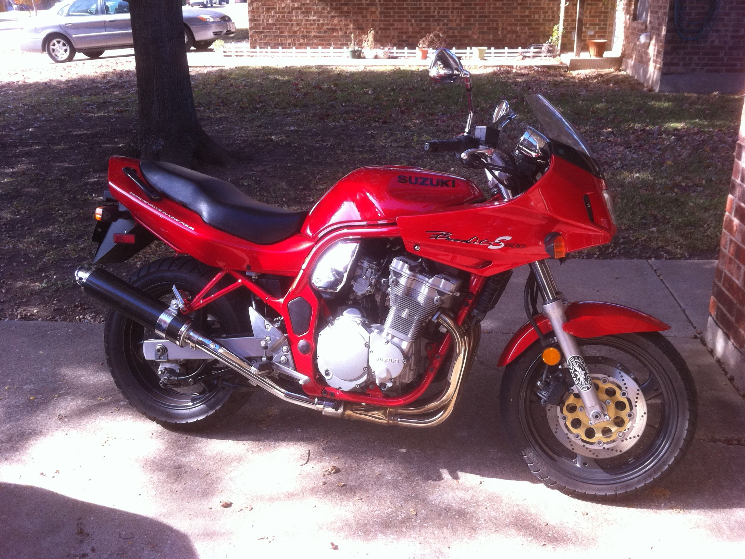 1999  Suzuki Bandit 600 S picture, mods, upgrades