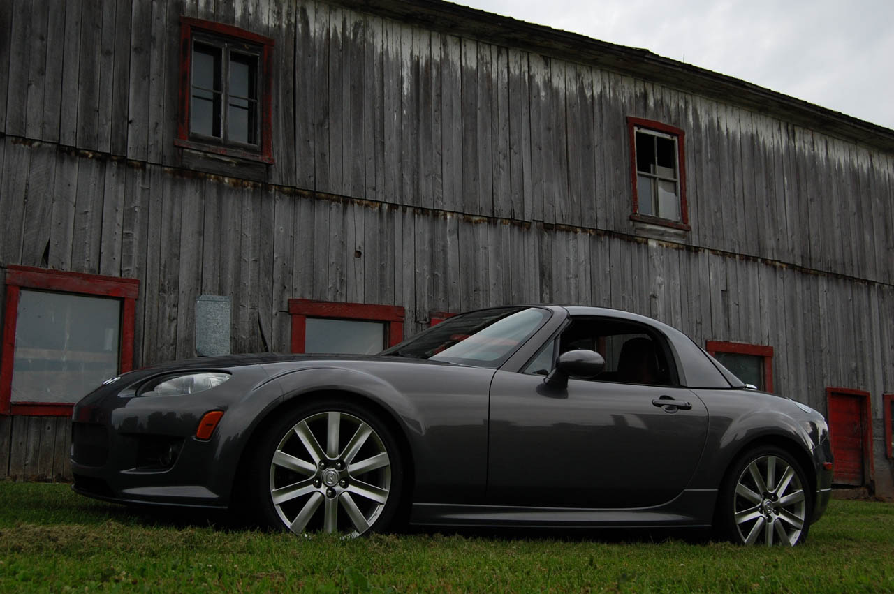 Galaxy Grey 2006 Mazda Miata MX5 GT w/removable Hardtop Goodwin Racing Supercharger