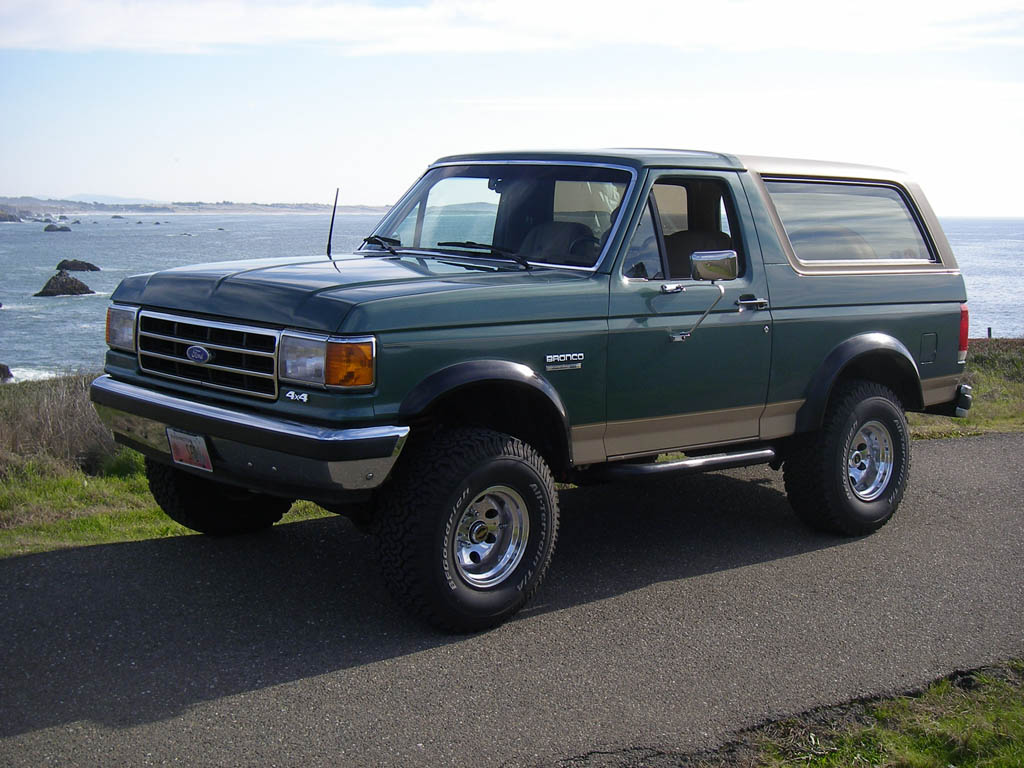 1990  Ford Bronco Full Size 4x4 picture, mods, upgrades