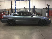 Grey 2003 Acura CL Type-S, 6spd