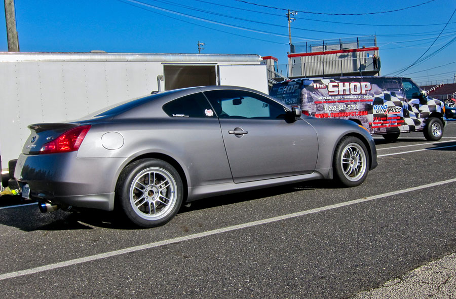 2008 Metallic grey Infiniti G37 Sport - 5AT picture, mods, upgrades