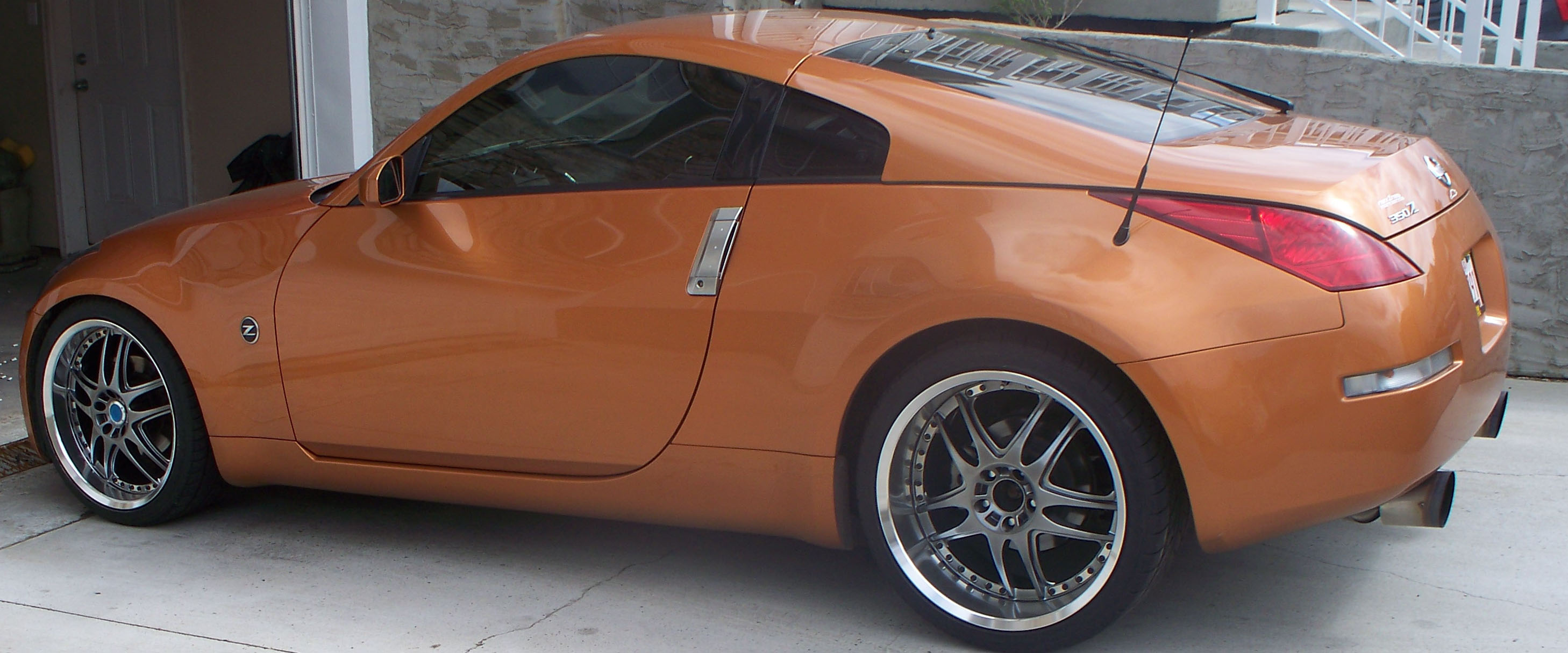 2003 Nissan 350Z Boosted performance turbo