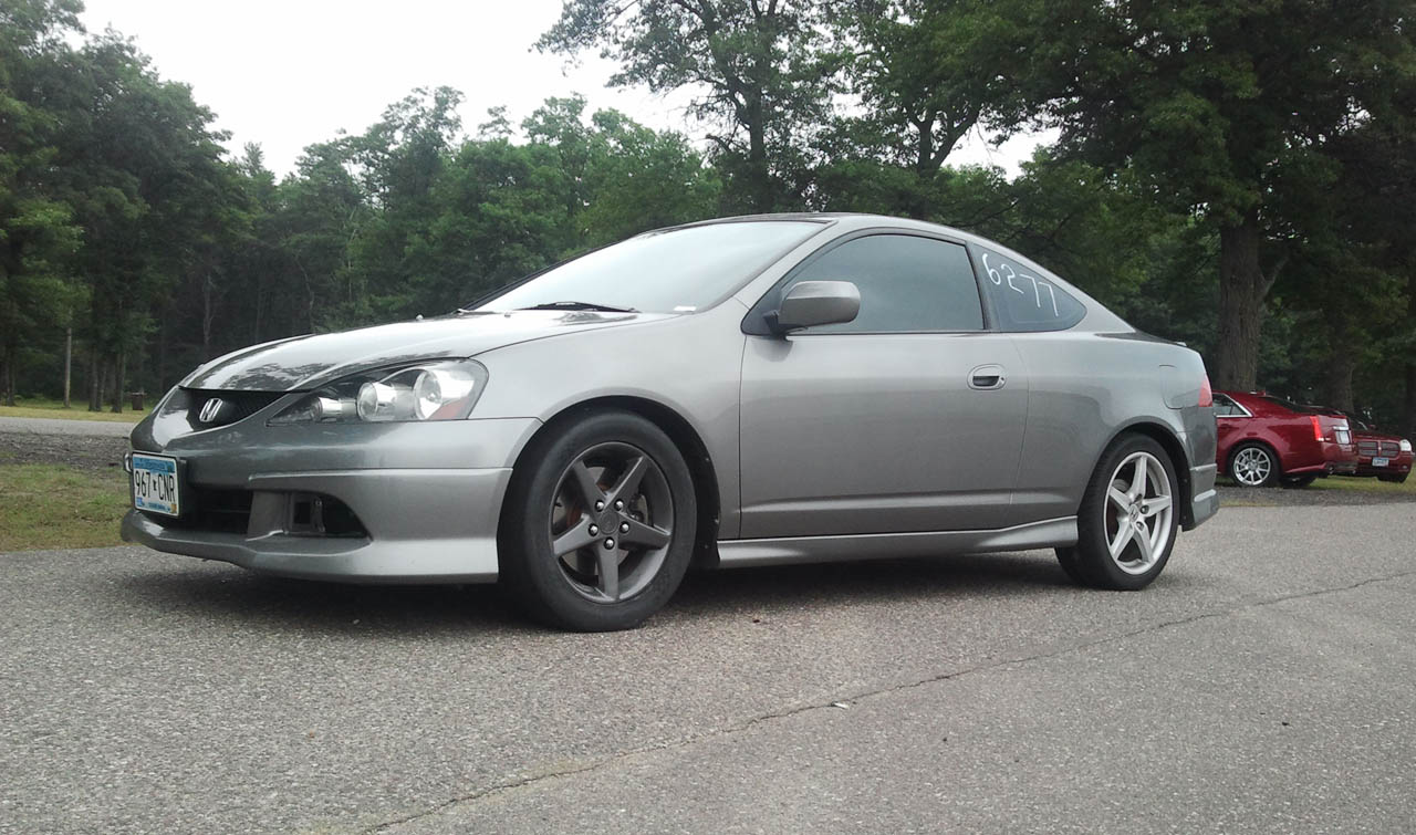 2006 Acura RSX Type-S 1/4 mile Drag Racing timeslip specs 0-60