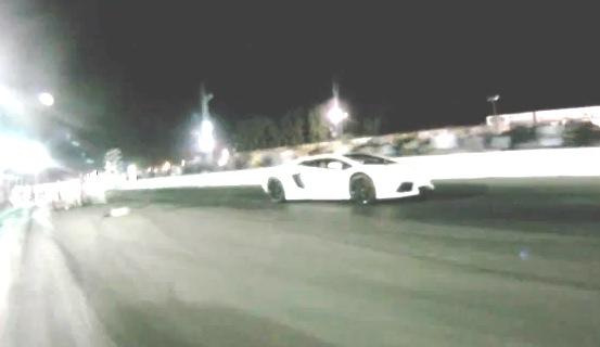 Lamborghini Aventador LP700 Drag Racing