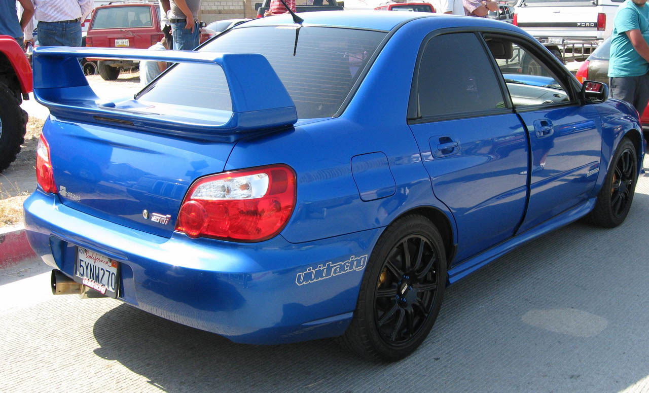 2004 subaru impreza wrx sti 1 8 mile drag racing timeslip. Black Bedroom Furniture Sets. Home Design Ideas
