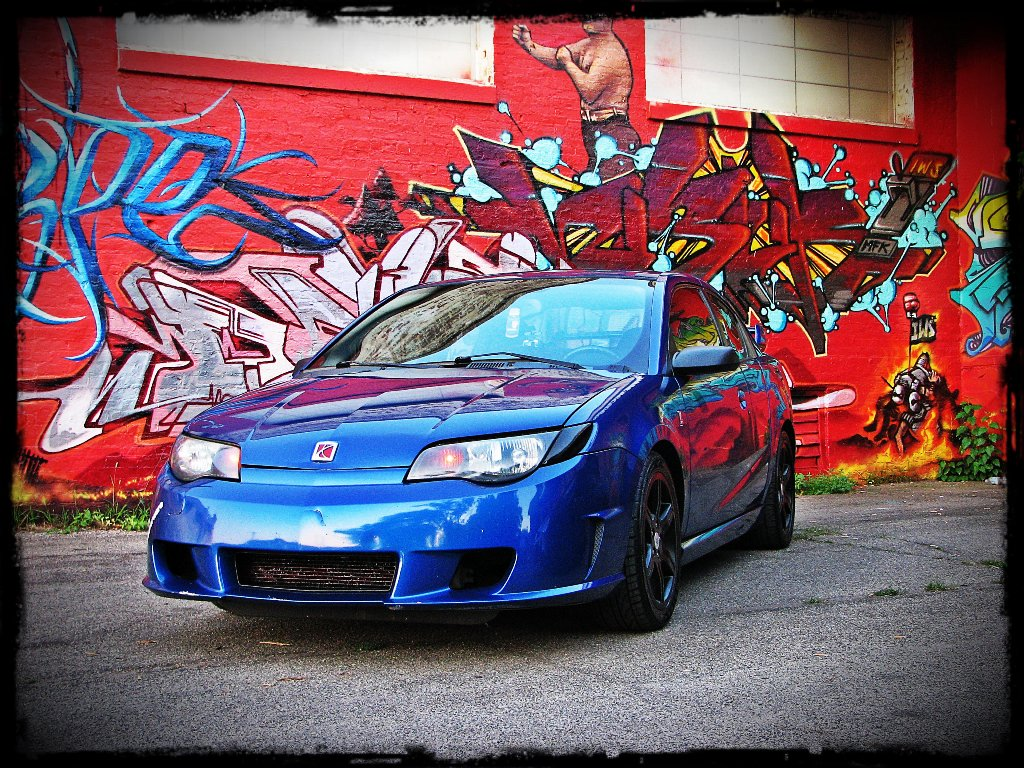 2004  Saturn ION Redline picture, mods, upgrades