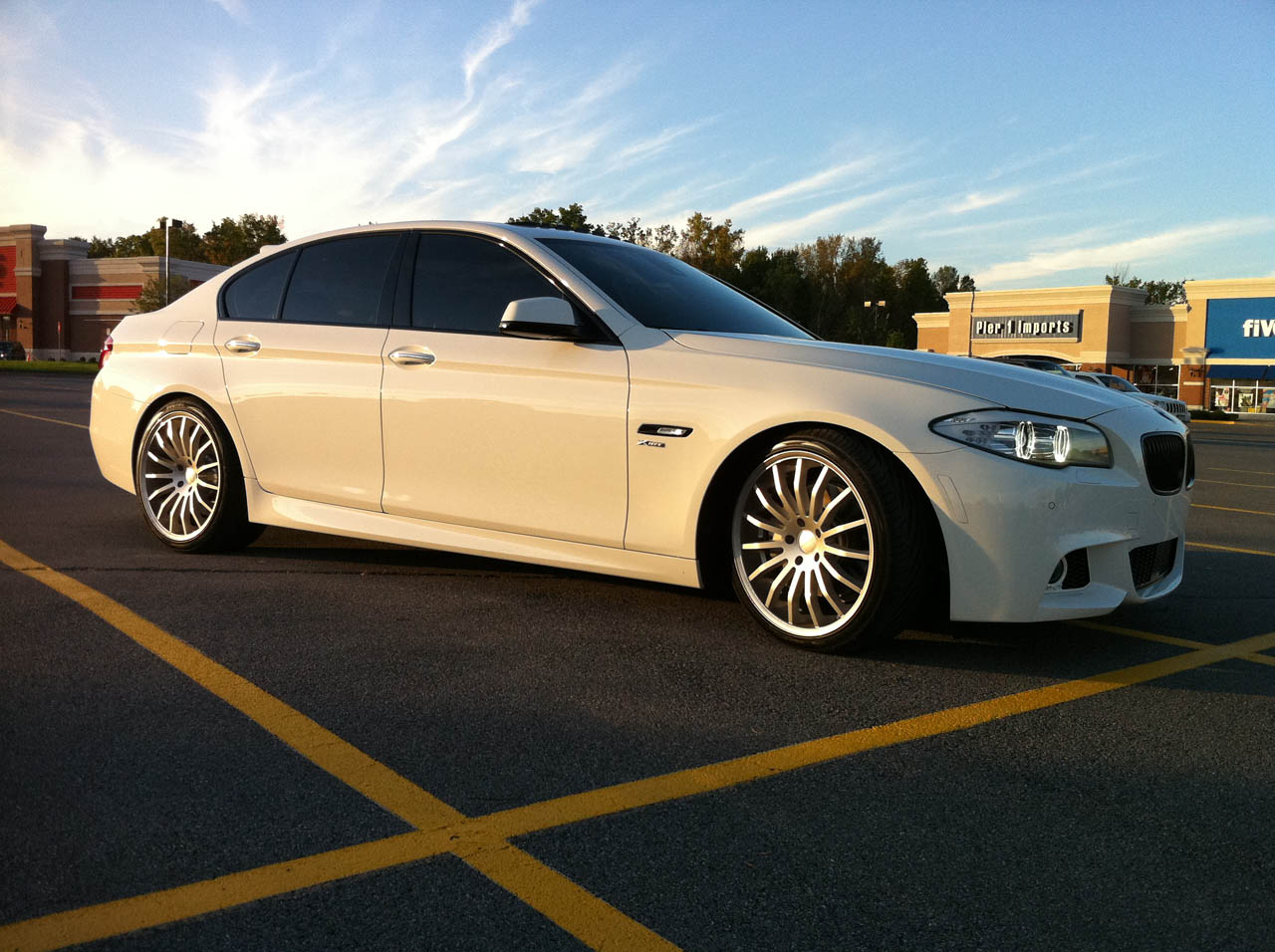 2011 BMW 550i xDrive Dinan Stage 1 Tune