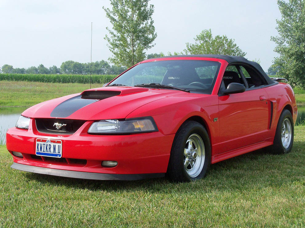 2001  Ford Mustang GT 4V Convertable picture, mods, upgrades
