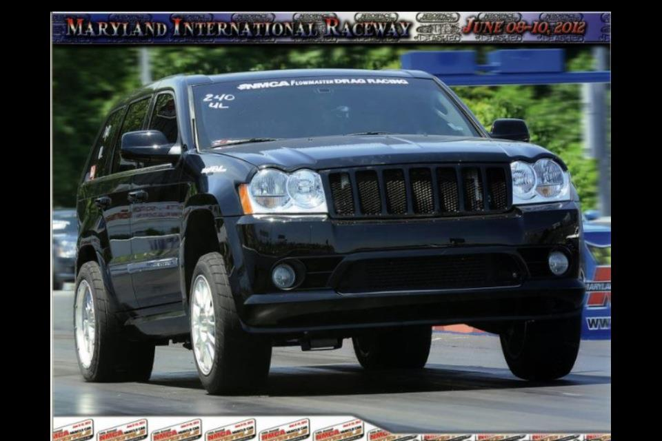 Supercharged Jeep SRT8