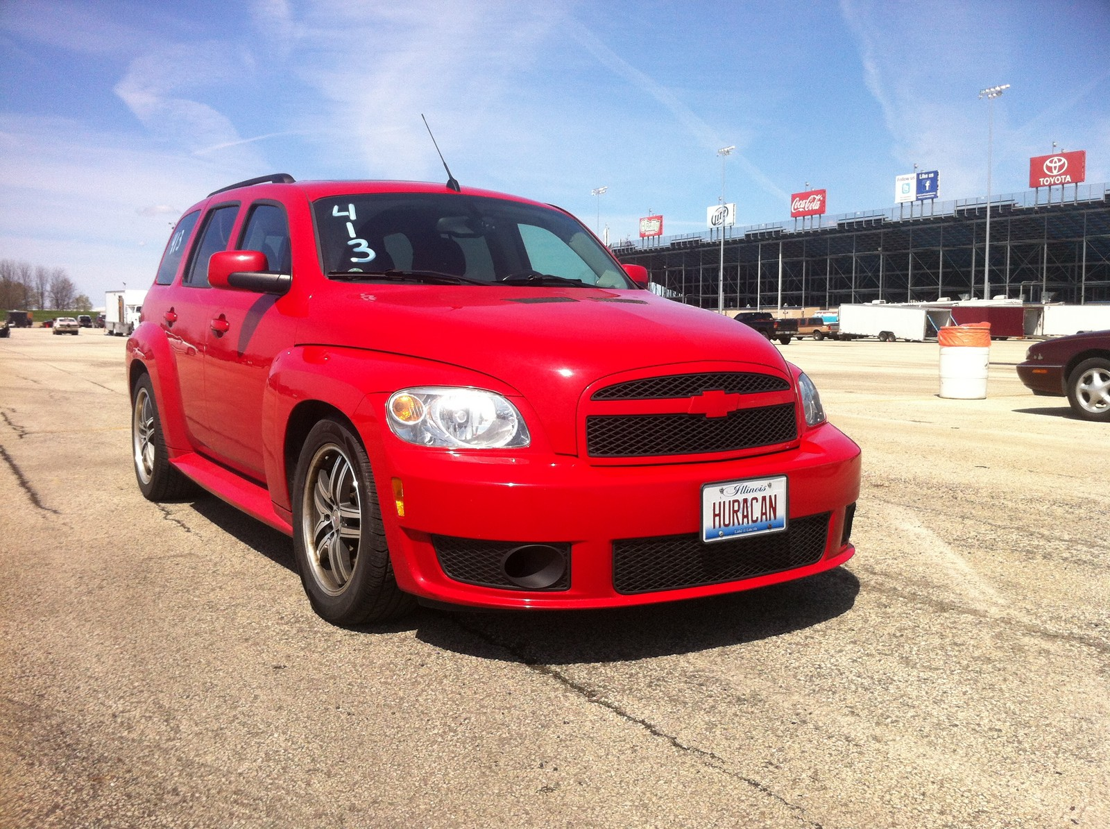 2008 Victory Red Chevrolet HHR SS picture, mods, upgrades