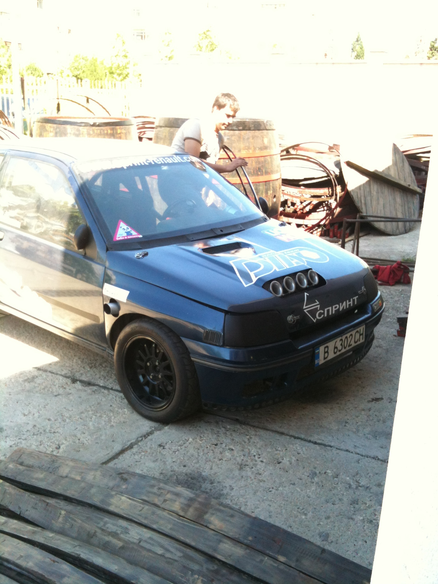1991  Renault Clio  picture, mods, upgrades