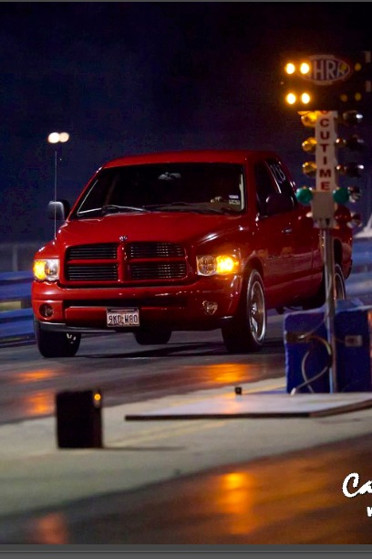 2003 Dodge Ram 1500 Qc sport 1/4 mile Drag Racing timeslip ...