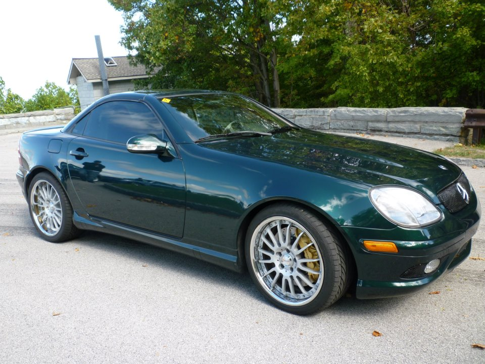 2003  Mercedes-Benz SLK32 AMG  picture, mods, upgrades