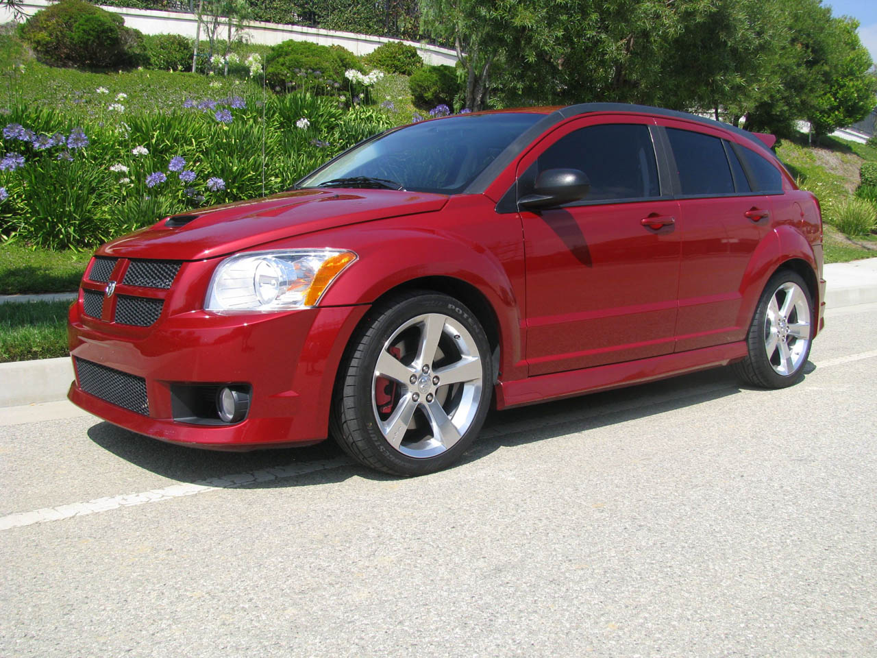 2008 dodge caliber srt 4 ms1k 1 4 mile drag racing. Black Bedroom Furniture Sets. Home Design Ideas