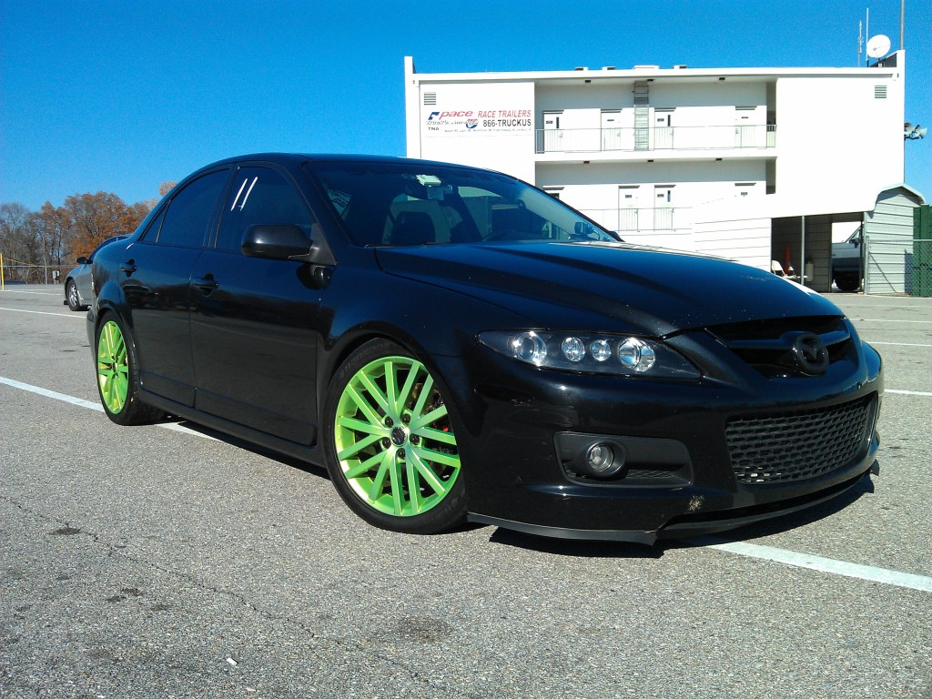 Has any one ever heard of a fast mazdaspeed 6 nasioc for Mazdaspeed 6 exterior mods