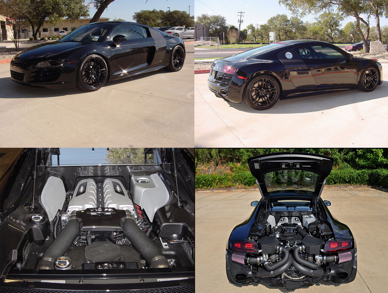 2010 Audi R8 V10 Twin Turbo Underground Racing UGR