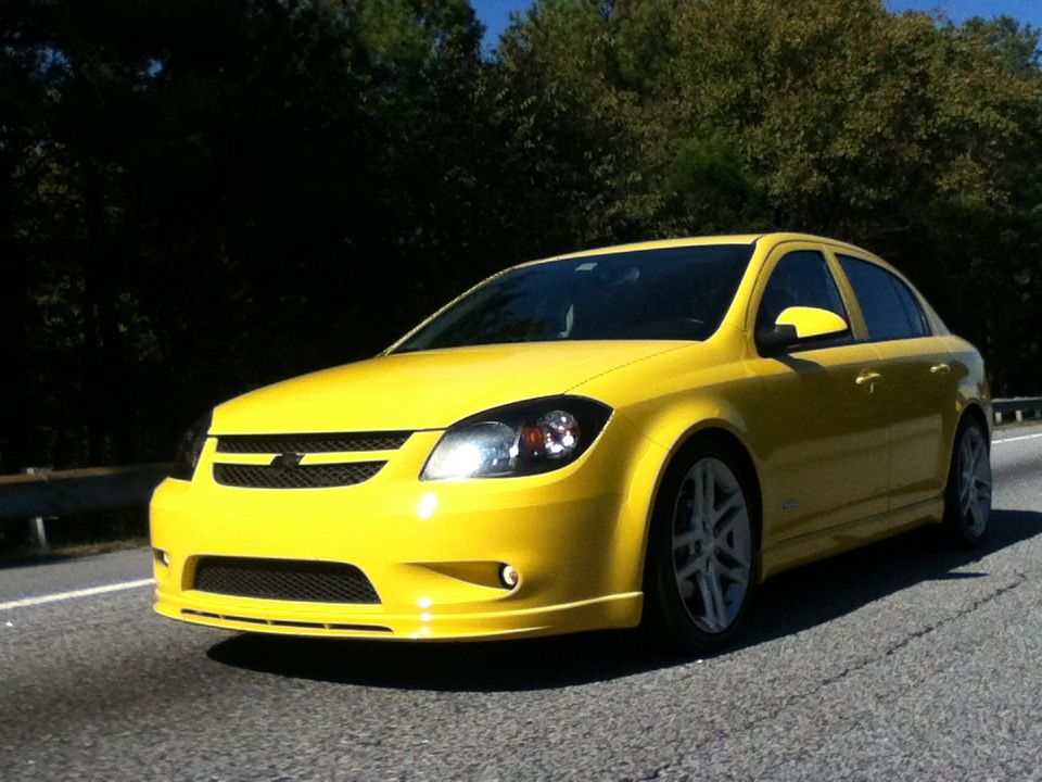 2009  Chevrolet Cobalt ss/tc sedan picture, mods, upgrades